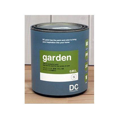 DCペイント 屋外用多用途ペンキ Garden 【1265】White Shoulders 0.9L DC-GQ-1265