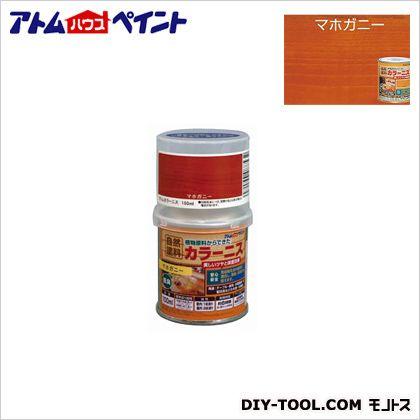 油性カラーニス(天然油脂ニス) マホガニー 100ML