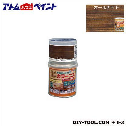 油性カラーニス(天然油脂ニス) オールナット 100ML