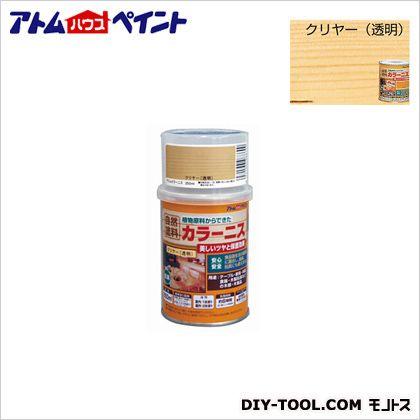 油性カラーニス(天然油脂ニス) クリヤー 250ML