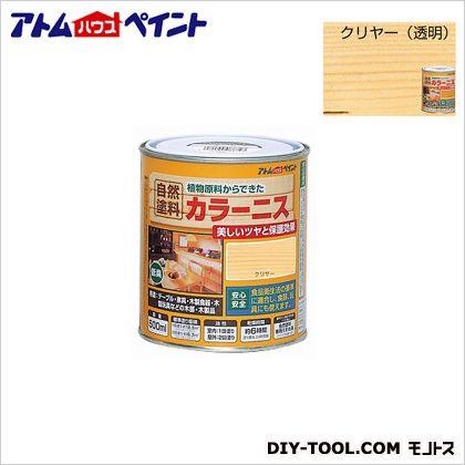油性カラーニス(天然油脂ニス) クリヤー 500ML