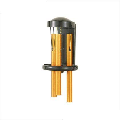 アイワ金属/AIWA パイプチャイム 引き戸兼用タイプドアベル ゴールド W80×D100×H190ミリ AP-021K