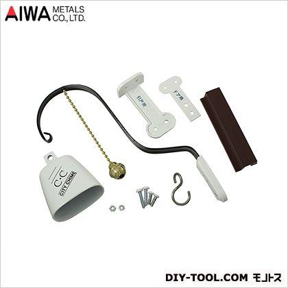 アイワ金属/AIWA シティチャイム ドアベル ホワイト  AP-015W
