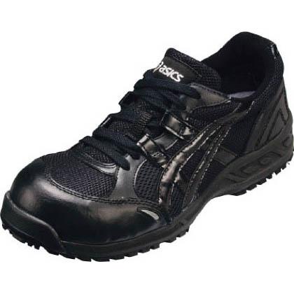 作業用靴 ウィンジョブ33L 9090ブラック×ブラック 23.5cm FIS33L.9090 23.5