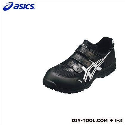 アシックス 作業用靴 ウィンジョブ41L 9093ブラック×シルバー 26cm FIS41L.9093 26.0