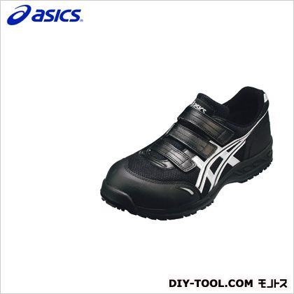 アシックス 作業用靴 ウィンジョブ41L 9093ブラック×シルバー 27cm FIS41L.9093 27.0