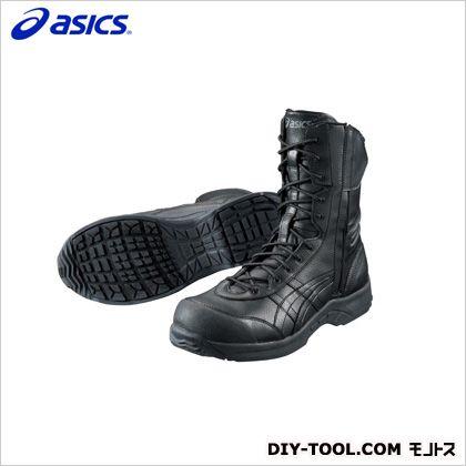 作業用靴 ウィンジョブ500L 9098ブラック×ブラック 26.5cm FIS500.9090 26.5