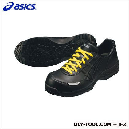 アシックス 静電気帯電防止靴 ウィンジョブE50S 9090ブラック×ブラック 25cm FIE50S.9090 25.0