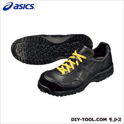 アシックス 静電気帯電防止靴 ウィンジョブE50S 90ブラック 22.5cm FIE50S.90 22.5
