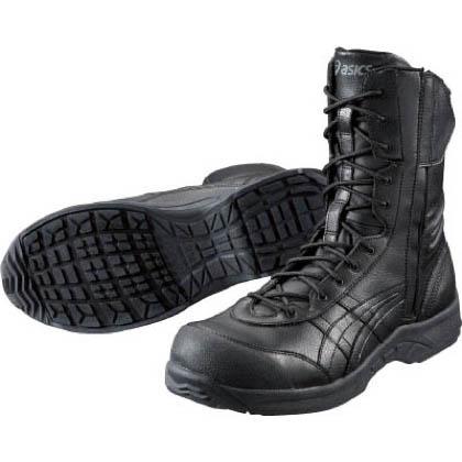 作業用靴 ウィンジョブ500L 9091ブラック×ブラック 23cm (FIS500.9090 23.0)