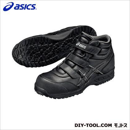 作業用靴 ウィンジョブ53S 9100ブラック×ブラック 30cm FIS53S.9090 30.0
