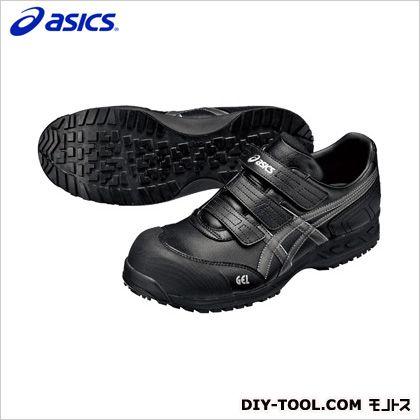 作業用靴 ウィンジョブ52S 9075ブラック×ガンメタル 23cm FIS52S.9075 23.0