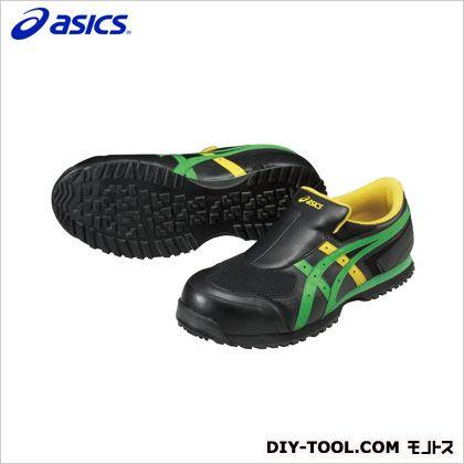 作業用靴 ウィンジョブ36S 9084ブラック×グリーン 26cm FIS36S.9084 26.0