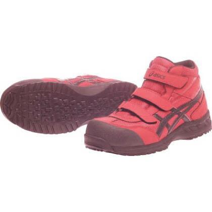 作業用靴 ウィンジョブ42S レッド×ブラック 22.5cm (FIS42S.2390 22.5)