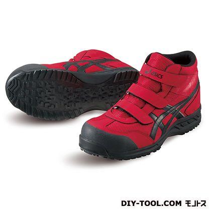 作業用靴 ウィンジョブ42S レッド×ブラック 26.0cm (FIS42S.2390 26.0)