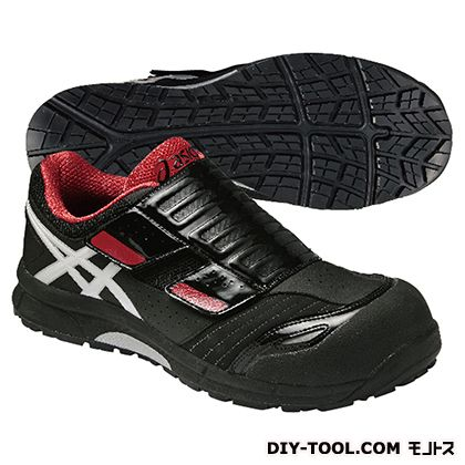 作業用靴 ウィンジョブ CP101 黒×赤 25cm FCP101.9001 25.0