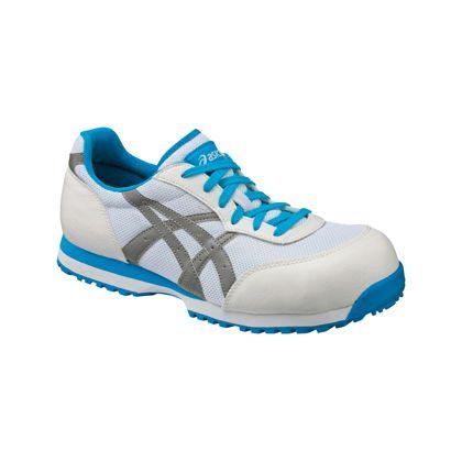 作業用靴 ウィンジョブ32L ホワイト×ライトグレー  FIS32L.0196 25.0