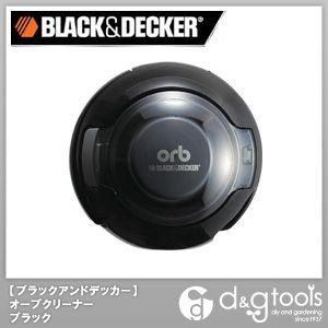 手の平サイズクリーナー orb/オーブクリーナ 掃除機 ブラック (orb48b)