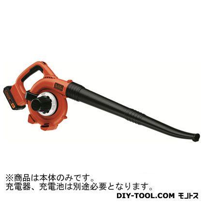 ブラック&デッカー ガーデンブロワー(本体のみ) ブラック×オレンジ  GWC1800LBN-JP