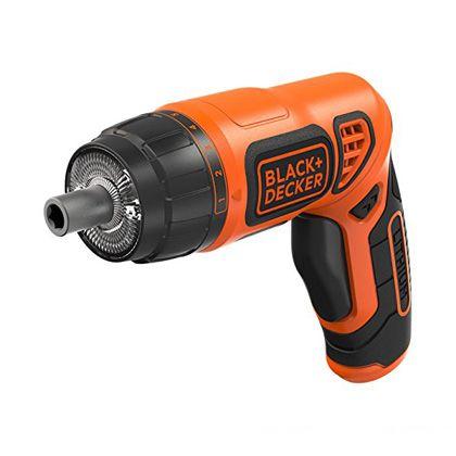 LEDツイストドライバー ブラック×オレンジ  PLR3602
