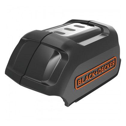 18V USBアダプター ブラック 120×80×80mm(バッテリー含む) BDUSB18