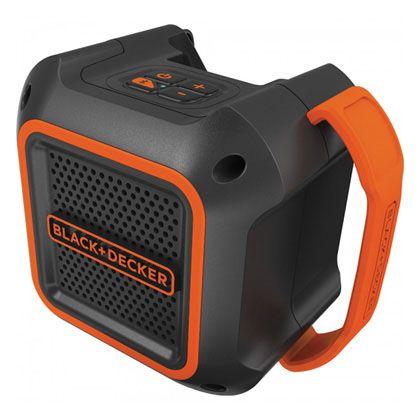 18V Bluetoothスピーカー ブラック×オレンジ 170×125×145mm (バッテリー含む) BDCSP18