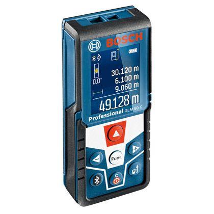 データ転送レーザー距離計  ●サイズ(mm):(H)111×(W)51×(D)30 GLM50C