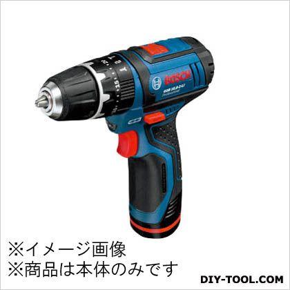 バッテリー振動ドライバードリル(本体のみ) 青/黒 (GSB10.8-2-LIH)