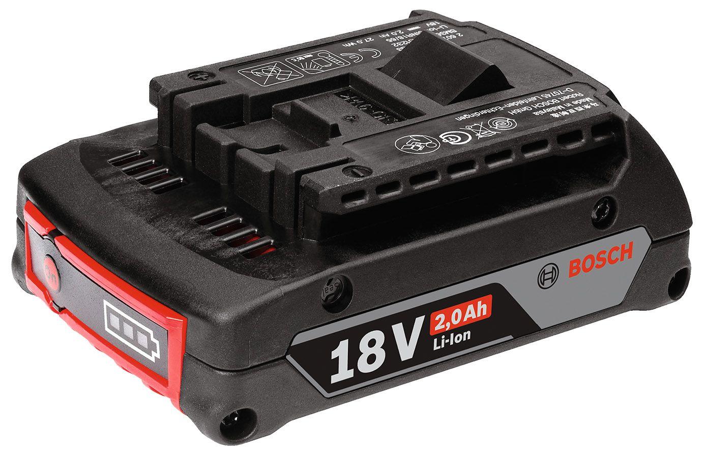 リチウムイオンバッテリー 18V・2.0AH (A1820LIB)