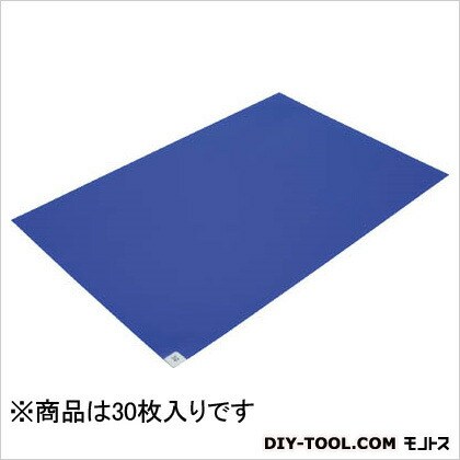 粘着マット(1シート)− (30枚×1) 青 (BSC840011SB)