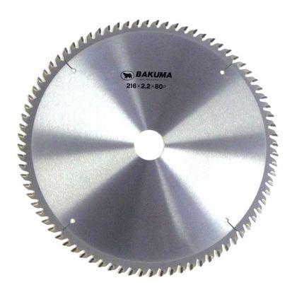 バクマ/BAKUMA チップソー スライド丸のこ用  216×2.2×80P