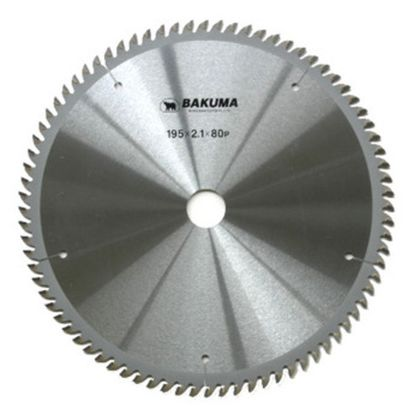 バクマ/BAKUMA スーパープロフェッショナルチップソー トメ切用  216×25.4mm100P