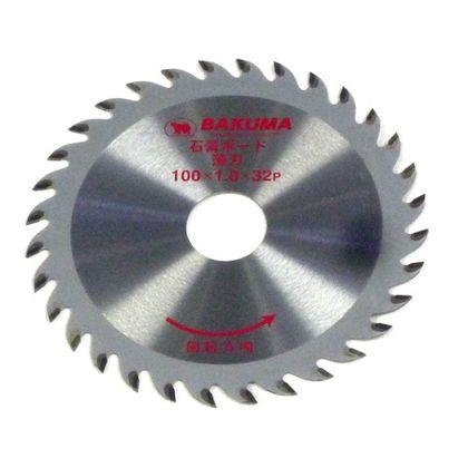 バクマ/BAKUMA チップソー石膏ボード用薄刃  100mm×32P