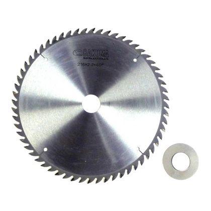 バクマ/BAKUMA チップソー タテ挽・ヨコ挽兼用  216×2.2×60P