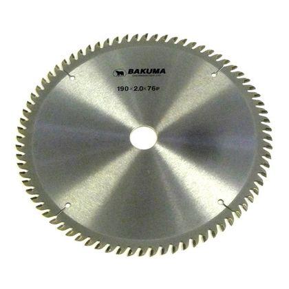 バクマ/BAKUMA チップソー トメ切用  190mm×76P