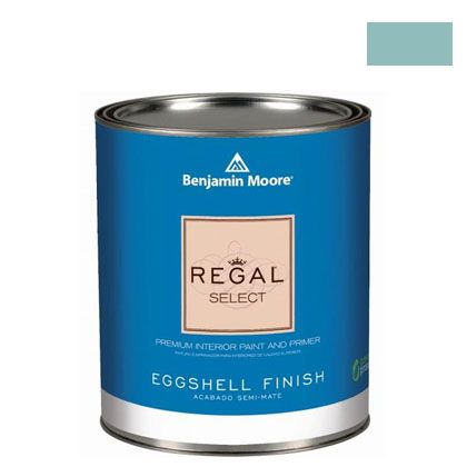 ベンジャミンムーアペイント リーガルセレクトエッグシェル 2~3分艶有り エコ水性塗料 スピリット イン ザ スカイ 1L Q319-676
