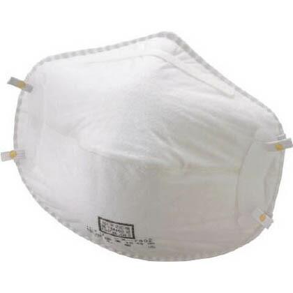 バイリーン 使い捨て式防じんマスクDL2 X-7502 オイルミスト対応 1箱 X7502   X7502 1 箱