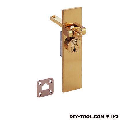 シリンダー栓錠 品番570 同一キー 鍵番号301 黄銅磨き