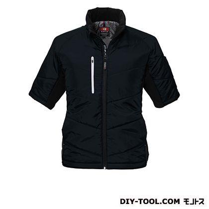 半袖防寒ブルゾン ブラック LL (7316)