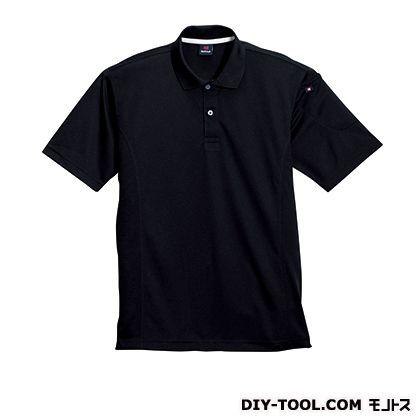 半袖ポロシャツ ブラック M 305