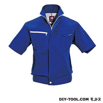 半袖ジャケット ロイヤルブルー M 6082