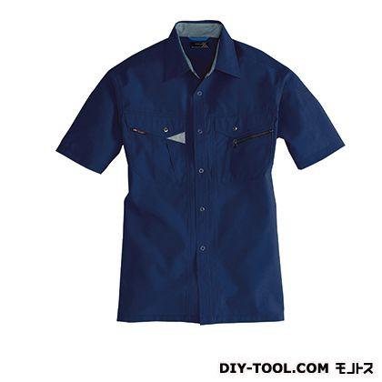 バートル 半袖シャツ ネイビー 3L 7065
