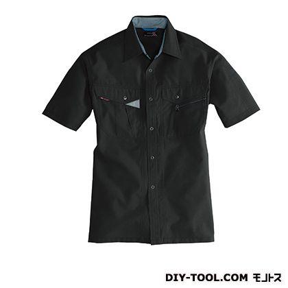 バートル 半袖シャツ ブラック 3L 7065