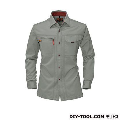 バートル 長袖シャツ グレージュ 3L 8023