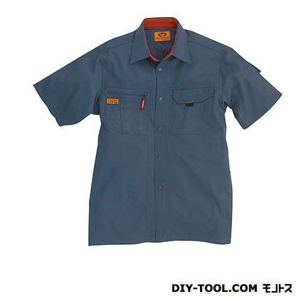 バートル 半袖シャツ スティール LL 8025