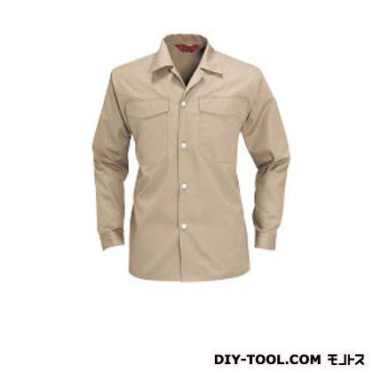 バートル オープンシャツ ベージュ L 0011OP