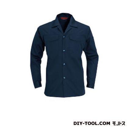 バートル オープンシャツ ネイビー L 0011OP