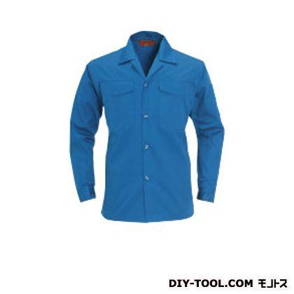 バートル オープンシャツ ブルー LL 0011OP