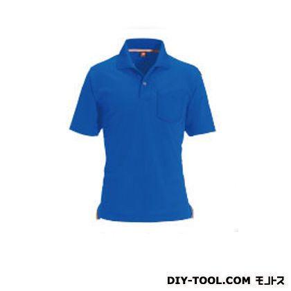 半袖ポロシャツ ロイヤルブルー LL (507)