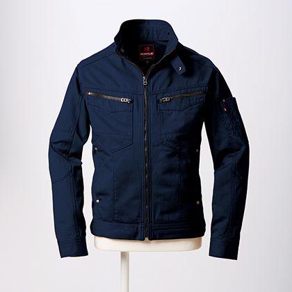 ジャケット ネイビー L (5501)